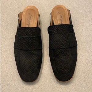 Free People At Ease Loafer - Black - Size 9